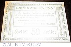 Imaginea #2 a 50 Heller 1920 - Lambrechten