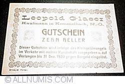 Imaginea #1 a 10 Heller ND - Kemmelbach (Leopold Glaser - Negustor (Kaufmann))