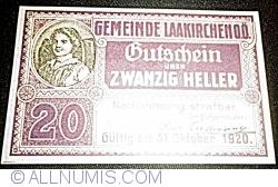 Imaginea #1 a 20 Heller ND - Laakirchen