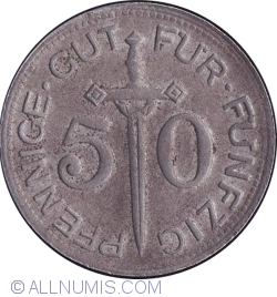 Image #1 of 50 Pfennig 1917 - Solingen