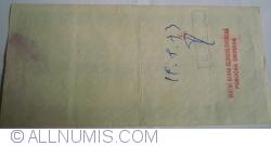 Imaginea #2 a 100 Lei  - Cumpărat 30. VII. 1973 Ostrava (Cehoslovacia)