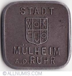 Imaginea #2 a 50 Pfennig 1918 - Mülheim an der Ruhr
