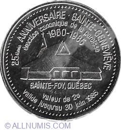 Image #1 of 2 Dollars 1985 - Sainte-Foy, Quebec
