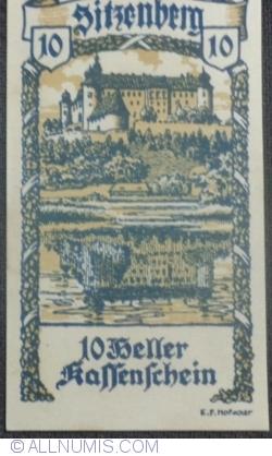 Imaginea #1 a 10 Heller 1920 - Sitzenberg