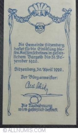 Imaginea #2 a 10 Heller 1920 - Sitzenberg