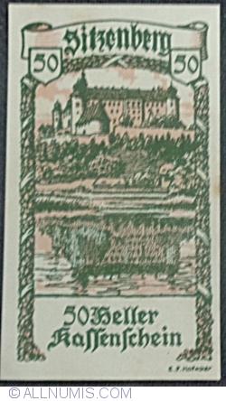 Imaginea #1 a 50 Heller 1920 - Sitzenberg