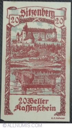 Imaginea #1 a 20 Heller 1920 - Sitzenberg