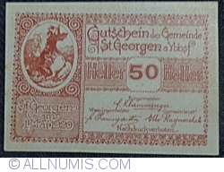 50 Heller 1920 - Sankt Georgen am Ybbsfelde