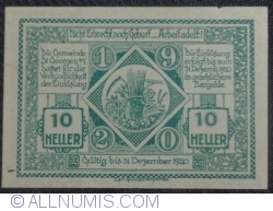 Imaginea #2 a 10 Heller 1920 - Sankt Georgen am Ybbsfelde