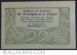 Imaginea #2 a 99 Heller 1920 - Sankt Georgen an der Gusen