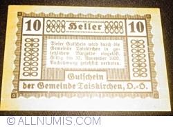 10 Heller 1920 - Taisckirchen