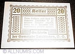 20 Heller 1920 - Taisckirchen