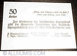 Image #2 of 50 Heller 1920 - Taisckirchen