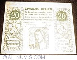 Imaginea #1 a 20 Heller ND - Loosdorf
