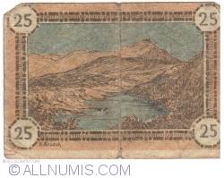 Image #2 of 25 Pfennig ND - Hirschberg