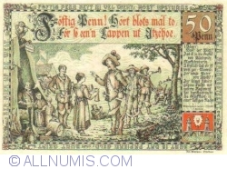 Image #2 of 50 Pfennig 1920 - Itzehoe