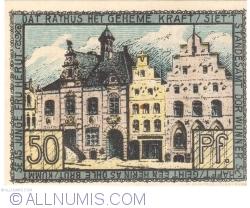Image #2 of 50 Pfennig ND - Husum