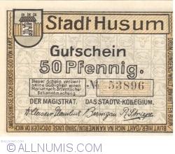 Image #1 of 50 Pfennig ND - Husum