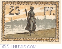 Image #2 of 25 Pfennig ND - Husum