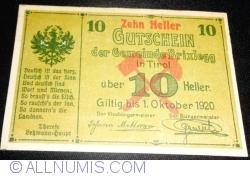 Imaginea #1 a 10 Heller 1920 - Brixlegg