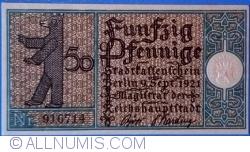 Imaginea #1 a 50 Pfennig 1921 (9) - Berlin