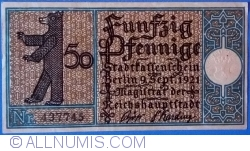 Imaginea #1 a 50 Pfennig 1921 (11) - Berlin