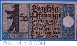 50 Pfennig 1921 (3) - Berlin