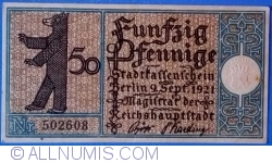 Imaginea #1 a 50 Pfennig 1921 (12) - Berlin