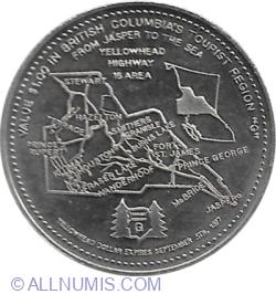 Image #2 of Districtul Terrace (British Columbia) - 1 Dollar 1977