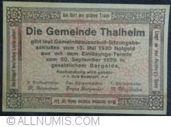 10 Heller 1920 - Thalheim bei Wels