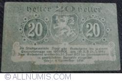 Imaginea #2 a 20 Heller 1919 - Steyr