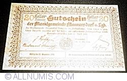 Image #2 of 20 Heller 1920 - Mannersdorf am Leithagebirge