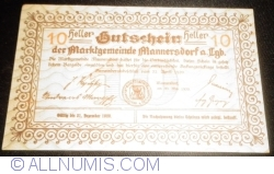 Image #2 of 10 Heller 1920 - Mannersdorf am Leithagebirge