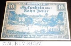 Image #1 of 10 Heller 1920 - Mannersdorf am Leithagebirge