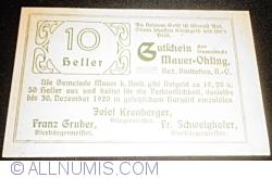 10 Heller ND - Mauer-Öhling