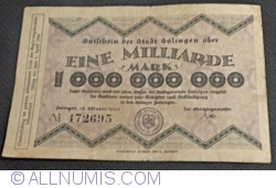 Image #1 of 1 000 000 000 (1 Milliarden) Mark 1923 - Solingen