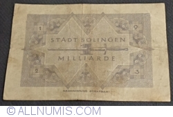 Image #2 of 1 000 000 000 (1 Milliarden) Mark 1923 - Solingen