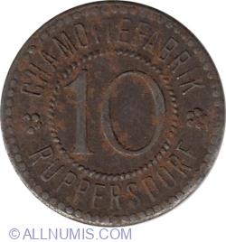 10 (Mărci) ND -  Ruppersdorf (Fabrica de șamotă)
