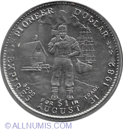 Image #1 of 1 Dollar 1982 - Miramichi