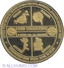 Image #1 of 2 Dollars 1993 - Wildwood