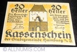 Imaginea #1 a 20 Heller ND - Hainburg