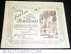 Imaginea #1 a 10 Heller 1920 - Hallstatt