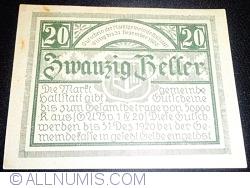Imaginea #2 a 20 Heller 1920 - Hallstatt