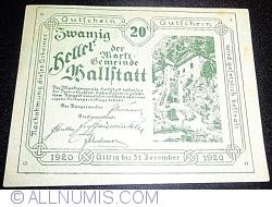 Imaginea #1 a 20 Heller 1920 - Hallstatt