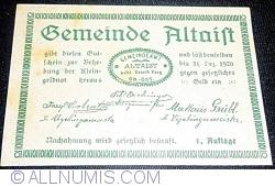 Image #1 of 50 Heller 1920 - Altaist (I. Auflage)