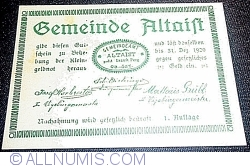 Image #1 of 10 Heller 1920 - Altaist (I. Auflage)