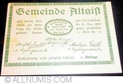 Image #1 of 20 Heller 1920 - Altaist (I. Auflage)
