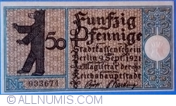 Imaginea #1 a 50 Pfennig 1921 (13) - Berlin