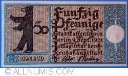 Imaginea #1 a 50 Pfennig 1921 (14) - Berlin