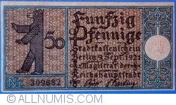 50 Pfennig 1921 (15) - Berlin